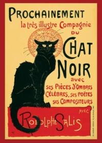 """Plakat """"Le Chat Noir"""" 1881"""